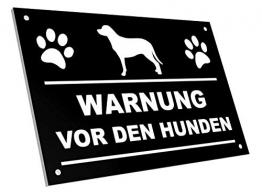 OriginDesigned Warnung vor den Hunden Schild - 1